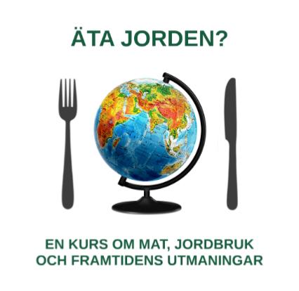 Logga för kursen Äta jorden.